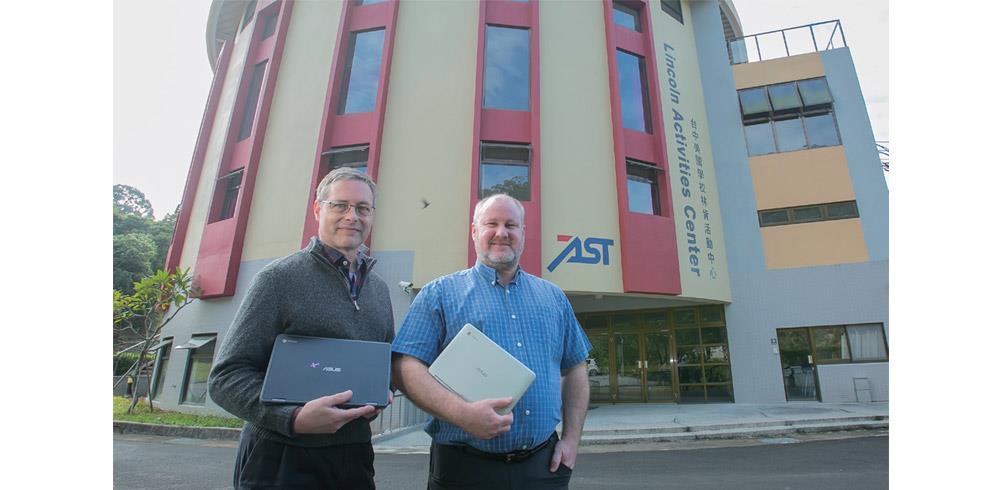 台中美國學校引進ASUS Chromebook 接軌美國本土